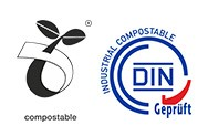 Industrial compostable products